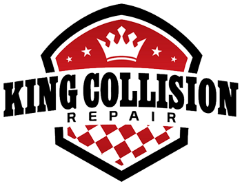 king collision logo