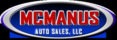 mcmanus auto sales logo